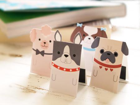 マグネットブックマーカー「しおり犬」part2