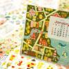 2014年度doodleカレンダー