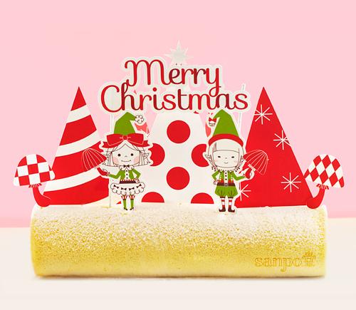 リボンとがねこのクリスマスピック