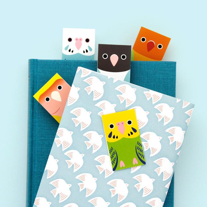 マグネットブックマーカー「しおり鳥」part.3